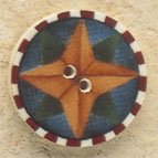 43108 - Star Compass - 7/8in x 7/8in
